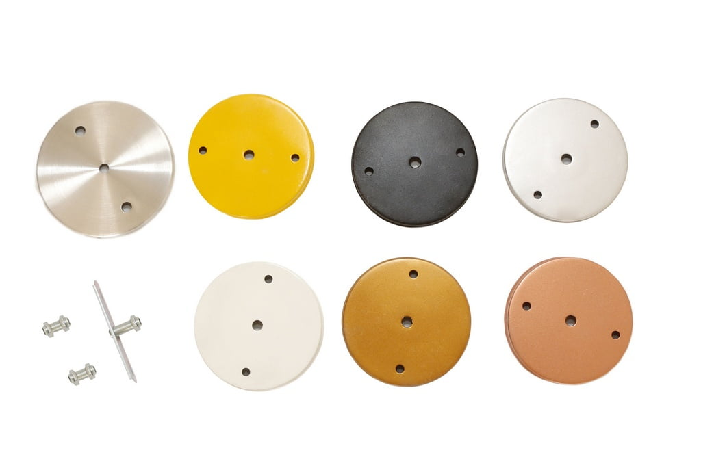 Canopla B2 c/ Kit p/ Luminária ou Pendente - cores