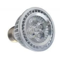 Lâmpada PAR20 LED 5W - cores