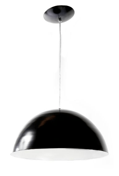 Pendente mod. Meia Bola 40cm cores básicas