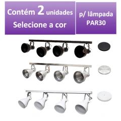 KIT SPOT DE TRILHO PAR30