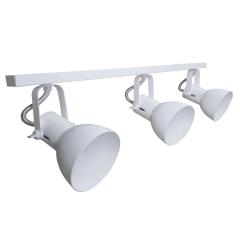 Spot de Trilho para 3 lampada comum Led Bulbo - 60cm