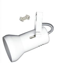 Spot Curto Reto p/ Trilho/Eletrocalha/Perfilado Soquete E27 Soft